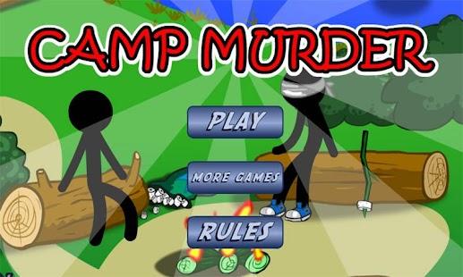 Stickman Camp Murder
