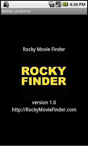 Rocky Movie Finder: Locations