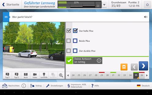 Fahren Lernen Screenshots