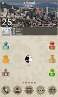 Screenshot of VTG Robot LINE Launcher theme