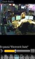 Screenshot of Radio Fuga