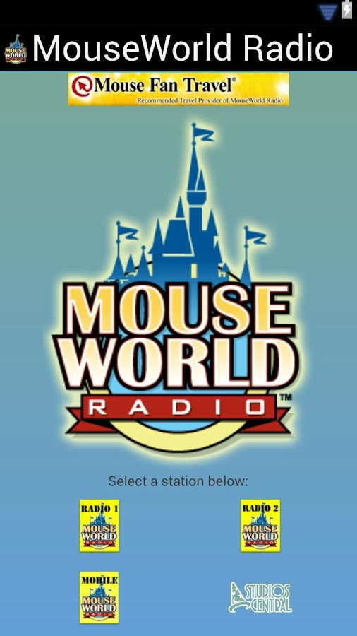 MouseWorld Radio - screenshot