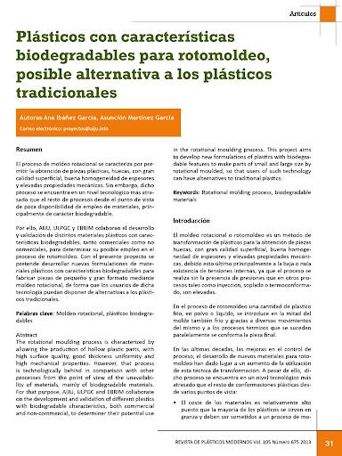 Revista Plásticos Modernos