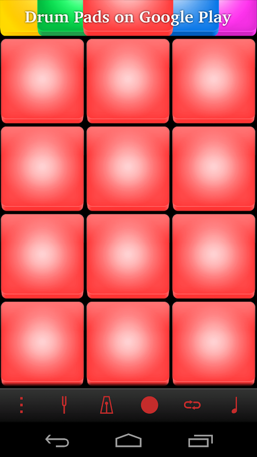 Rock Drum Pads - screenshot