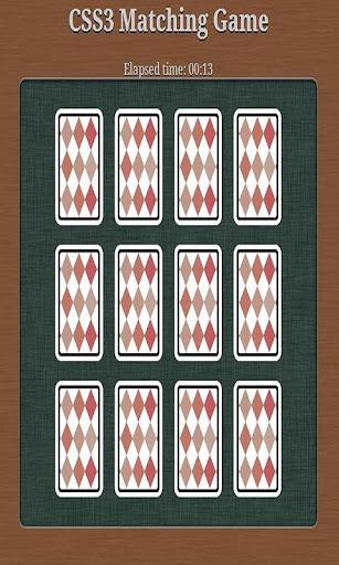 Card Matching Game
