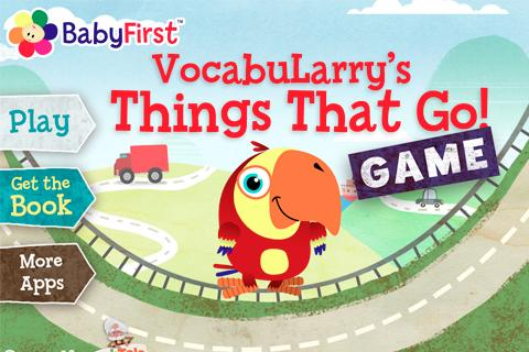 VocabuLarry's Things Game - screenshot