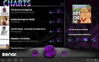 Screenshot of Sonar