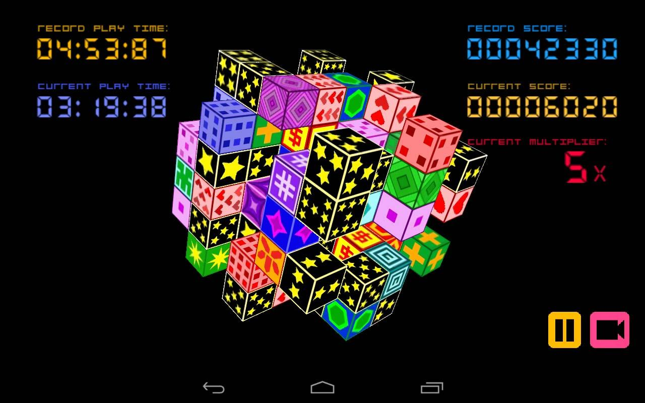 Cubistry - screenshot