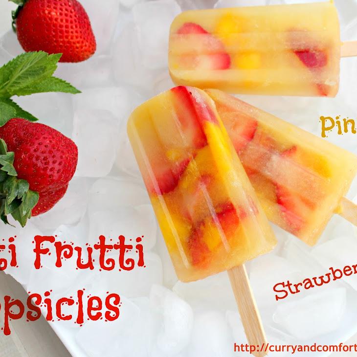 Tutti Frutti Popsicles