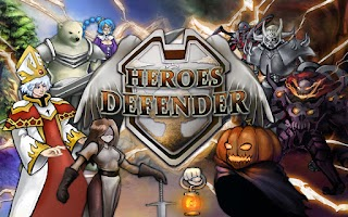 Screenshot of Heroes Defender Tower Defense