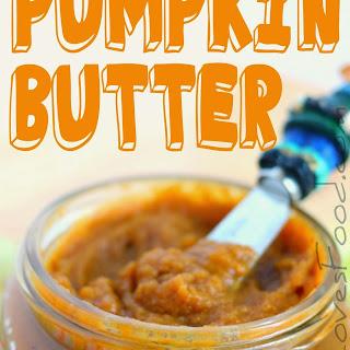 No Cook Pumpkin Butter