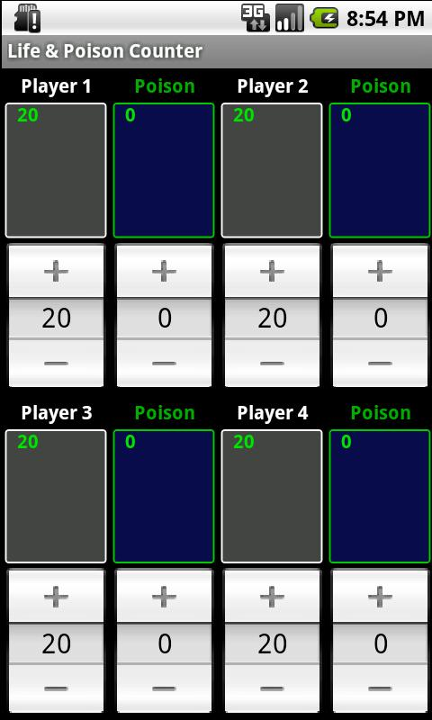 Life & Poison Counter- screenshot