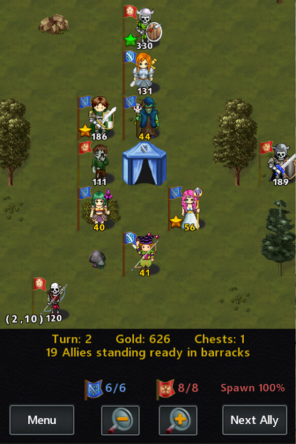 Kingturn RPG Lite- screenshot