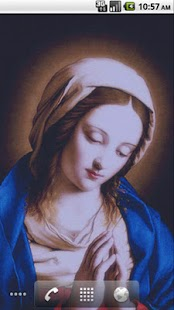 Virgin Mary LWP Free - screenshot thumbnail