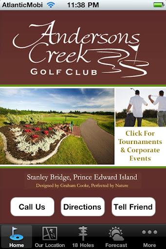 Andersons Creek Golf Club - PE