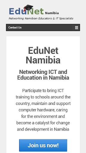 EduNet Namibia WebApp