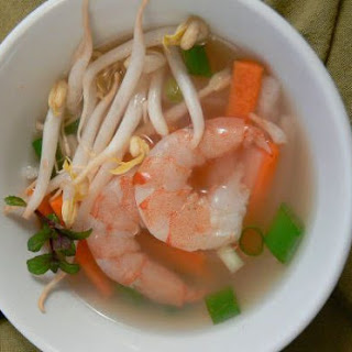 Shrimp and Lemongrass Soup