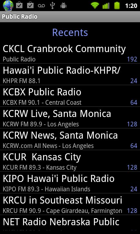 Public Radio - screenshot