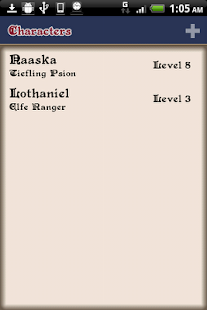D&D 4 Android - screenshot thumbnail