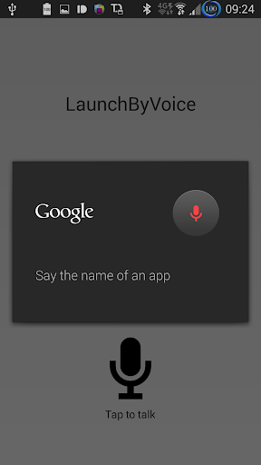 LBV: Launch By Voice