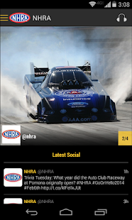 NHRA Mobile Premium - screenshot thumbnail
