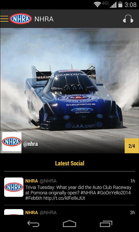 NHRA Mobile Premium - screenshot