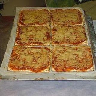 Matzo Pizzas