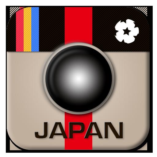 サムライ日本代表サッカー応援IGer LOGO-APP點子