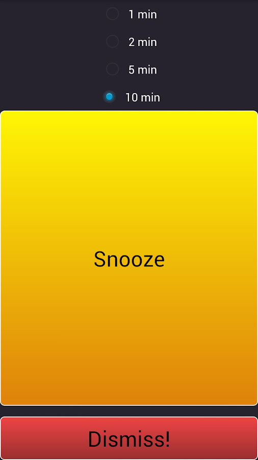 Flash Alarm Clock- screenshot
