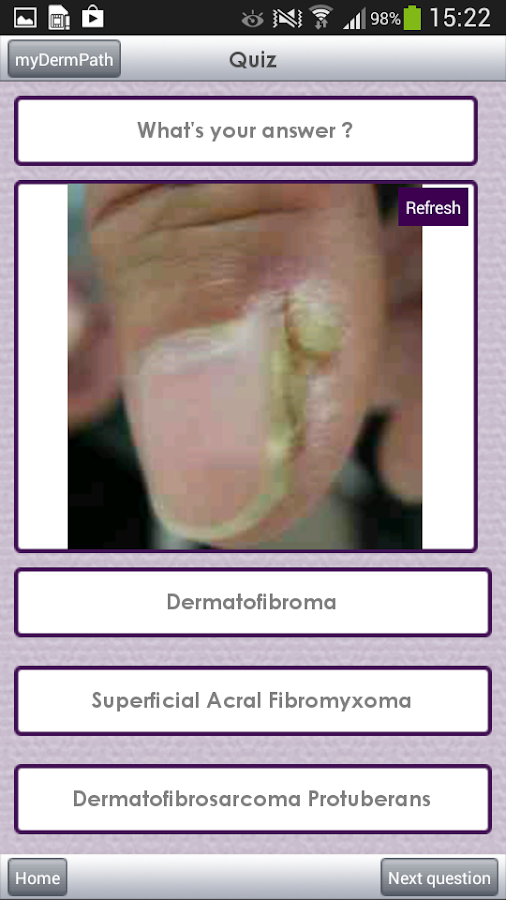 myDermPath- screenshot