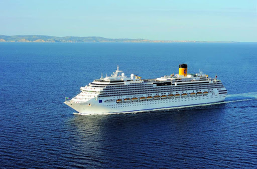 Costa-Fascinosa-aerial - Costa Fascinosa's Mediterranean itineraries include Spain, France and Italy.
