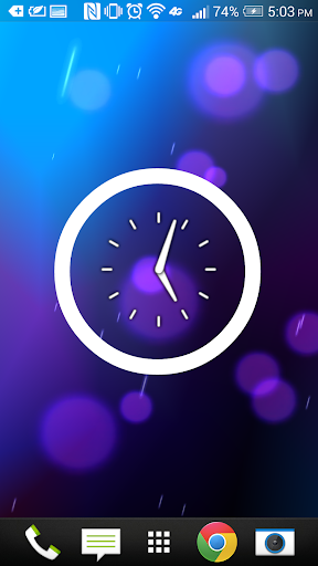 BigTooth Clock Widget