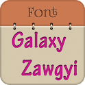 Zawgyi Design Galaxy Font icon