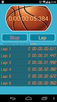Screenshot of Stopwatch, countdown