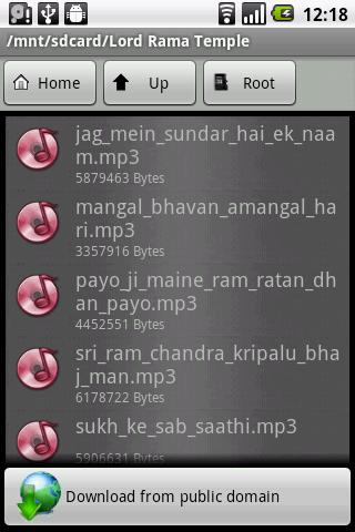 Shri Ram Temple - screenshot