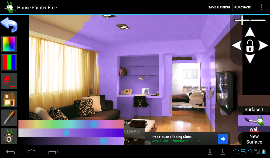 House Painter Free Demo Screenshot