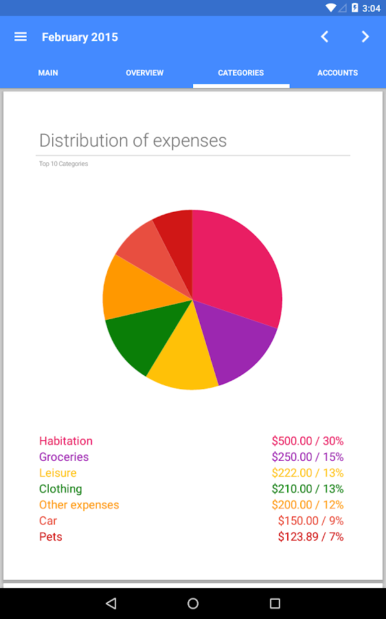 Our Budget Book Pro- screenshot