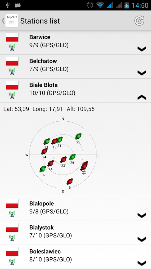 TopNET live Mobile- screenshot