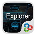 Explorer GO Launcher Theme icon
