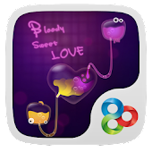 Bloody sweet love GO Launcher