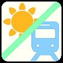 乗換案内、運行状況、天気も一発検索!路線&天気サーチ icon