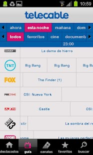 Guía telecable TV - screenshot thumbnail