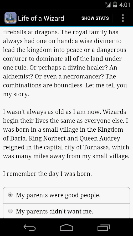 Life of a Wizard - screenshot