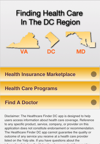 Health Care Finder DC