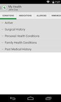 Screenshot of FollowMyHealth™ Mobile