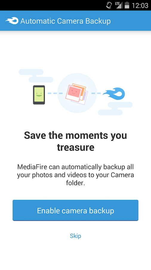 MediaFire - screenshot
