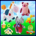 Kids Animal Toys (Real Sounds) logo