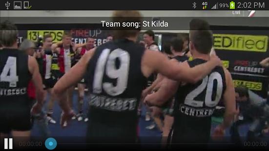 St Kilda Official App - screenshot thumbnail