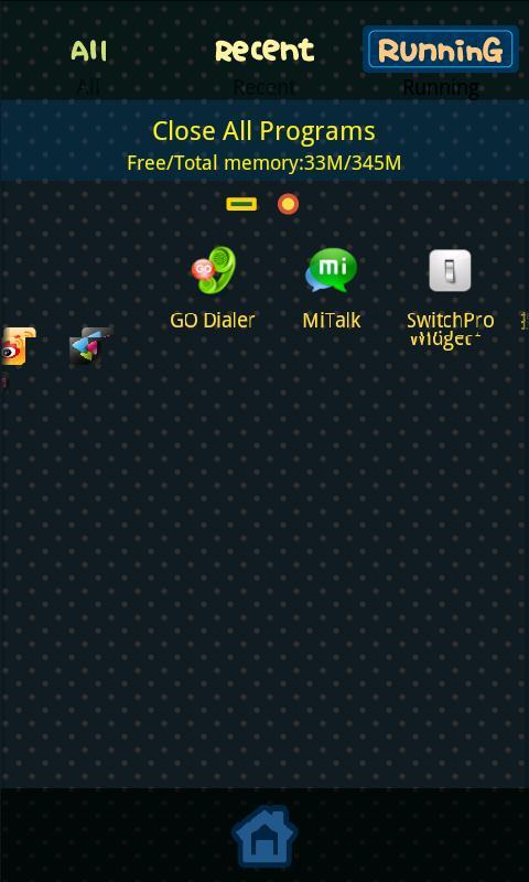 Forgetting Theme GO Launcher - screenshot