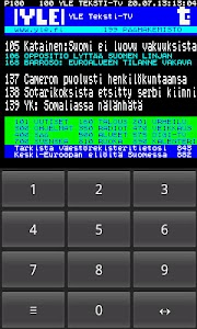 Teksti-TV screenshot 1